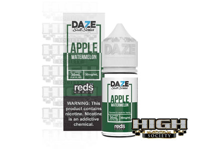 Reds Watermelon Salt by 7 Daze Salt Series 30ml - High Society Supply
