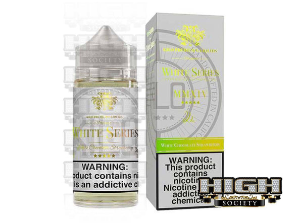 White Chocolate Strawberry by Kilo White Series 100ml - High Society Supply