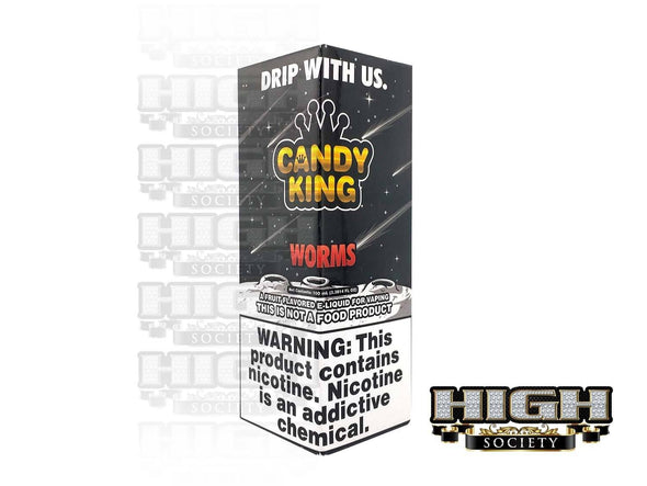 Worms by Candy King 100ml
