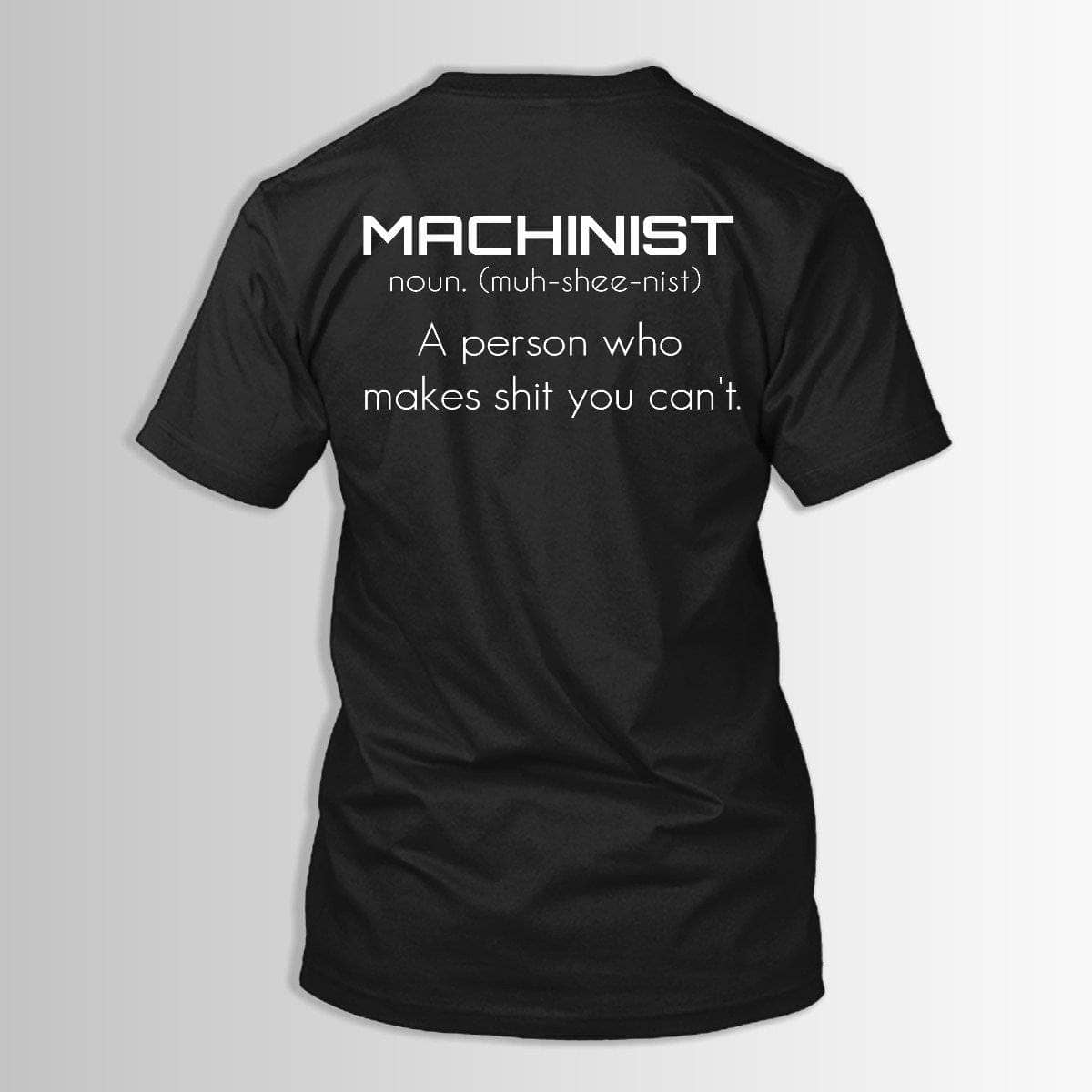 MACHINIST DEFINITION
