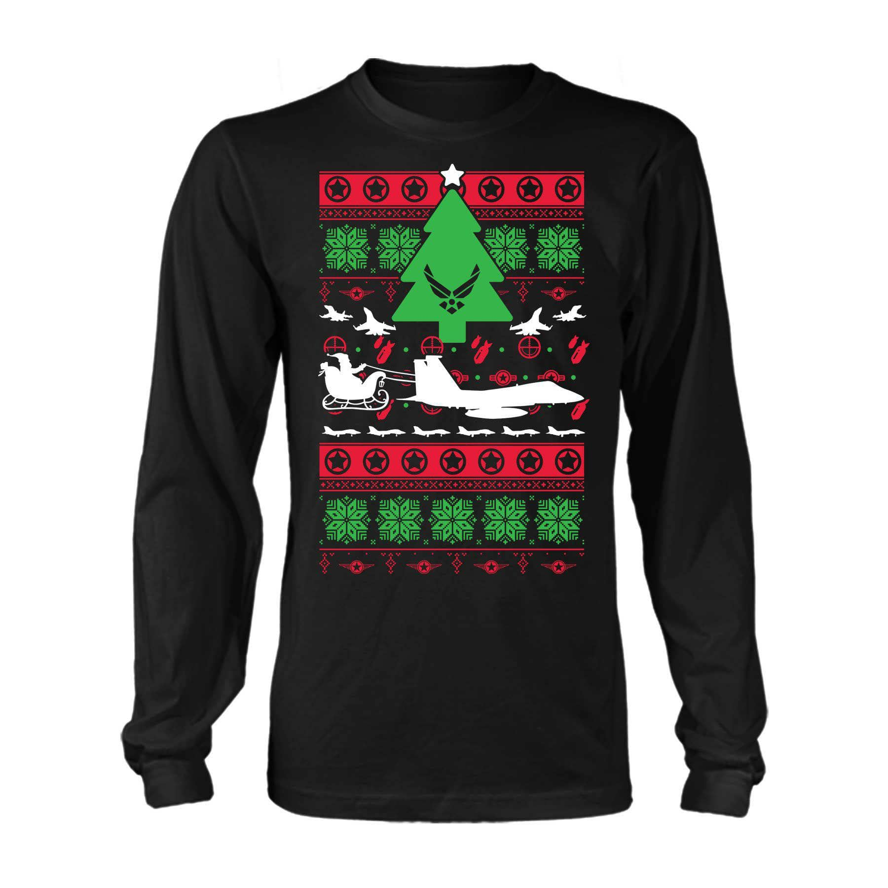 Christmas Sweater Air Force