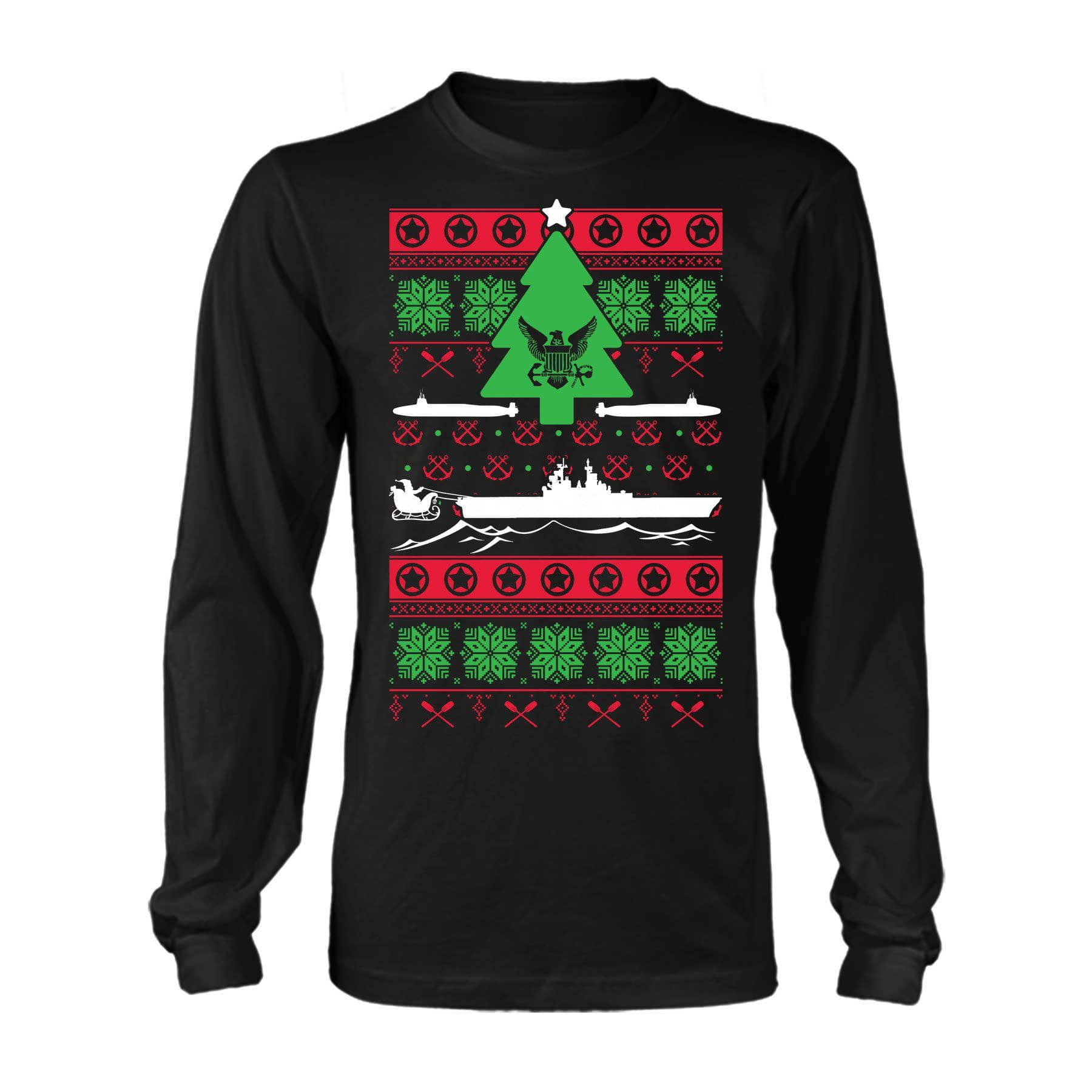 Christmas Sweater Navy