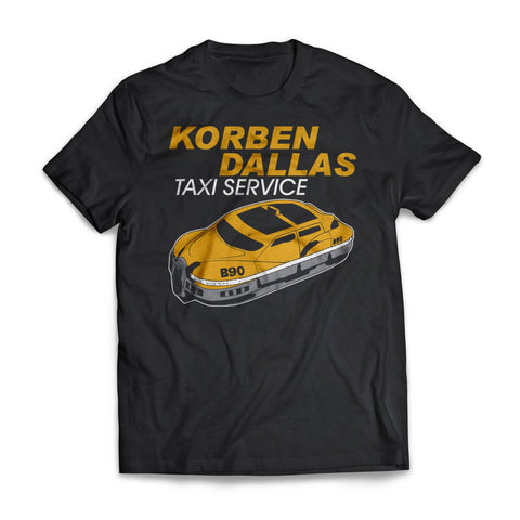 Yellow Korben Dallas Taxi
