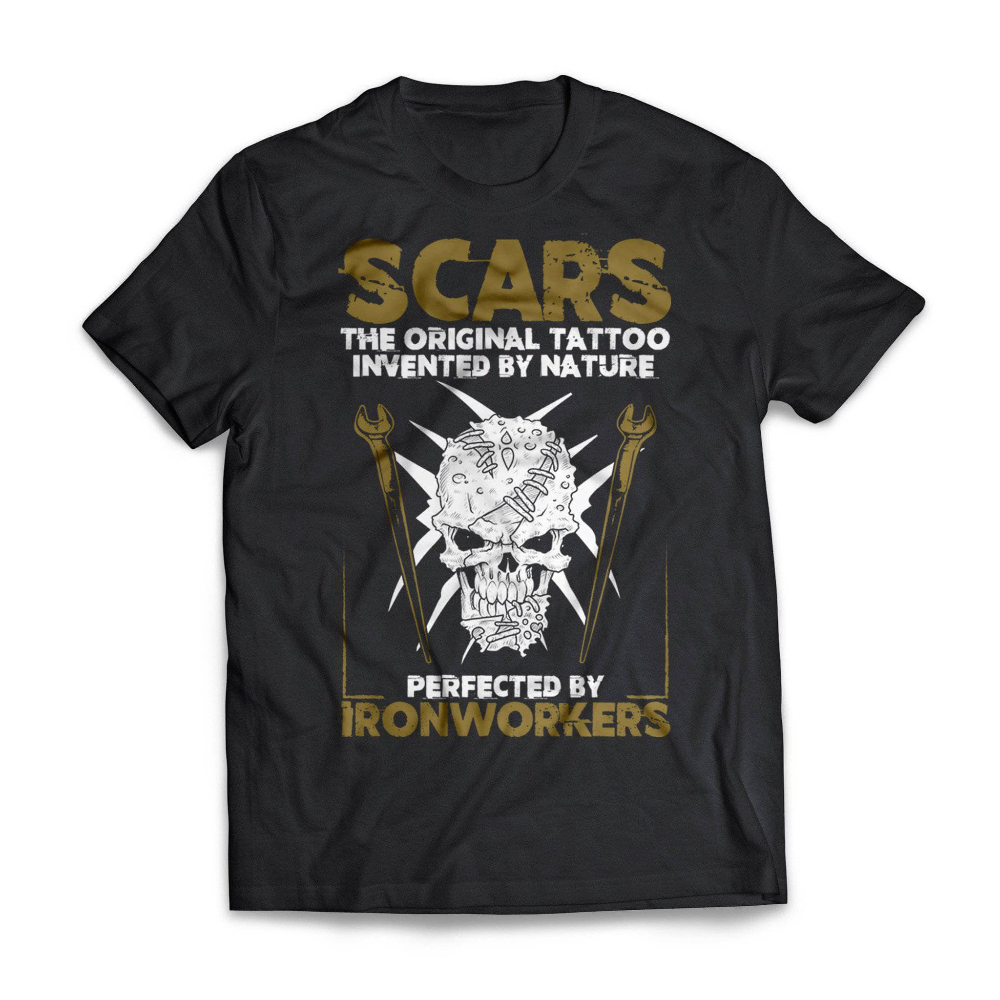 Ironworker Scars