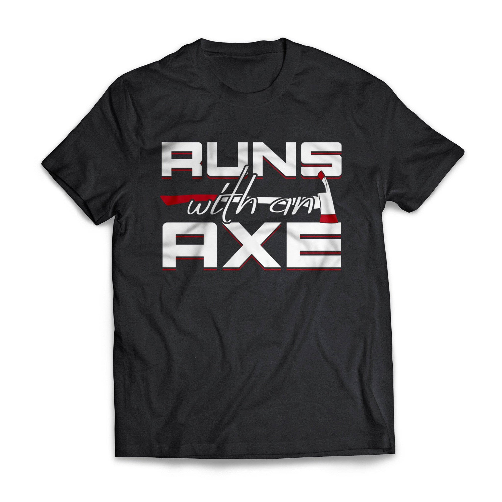 Runs With Axe Firefighter