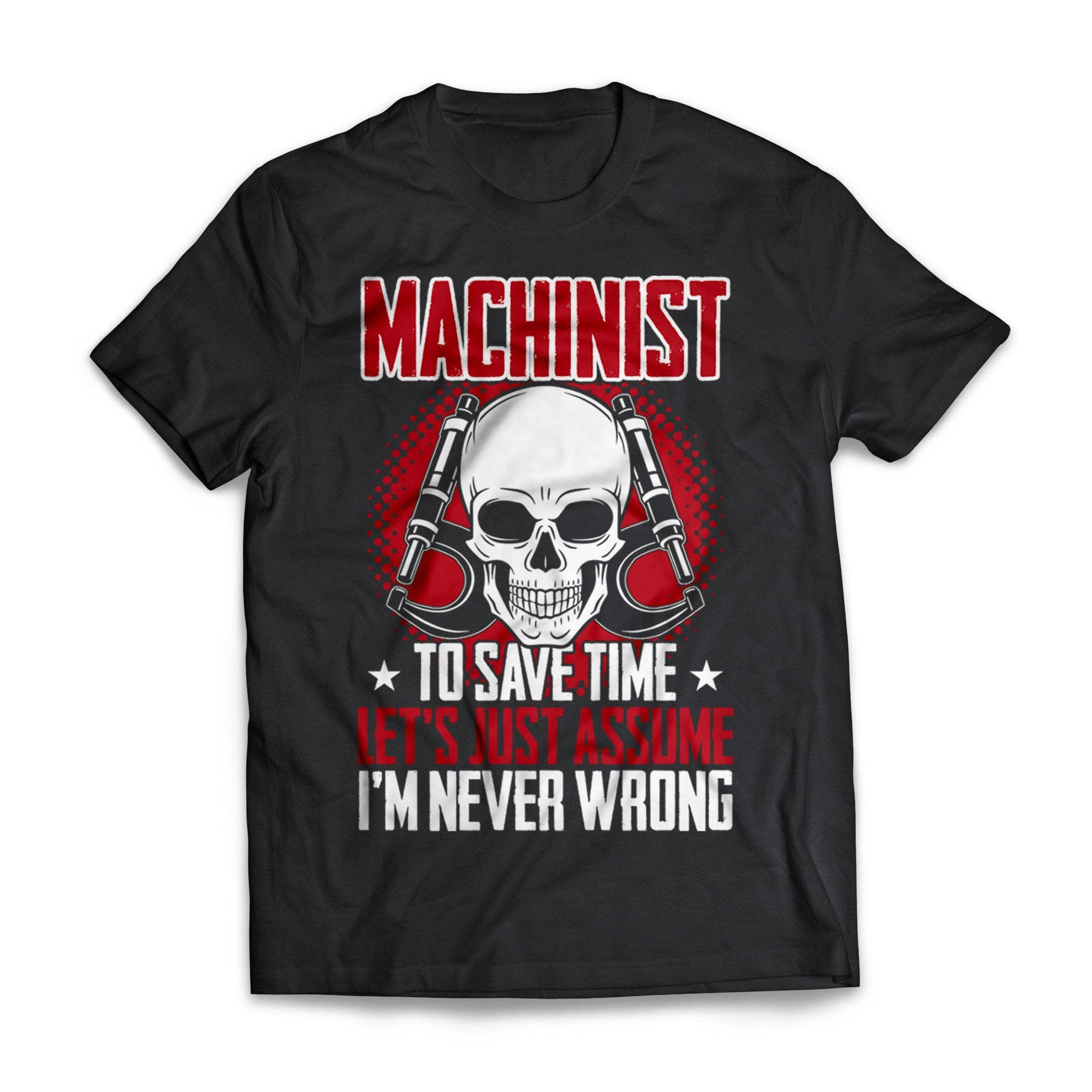 I'M Never Wrong Machinist