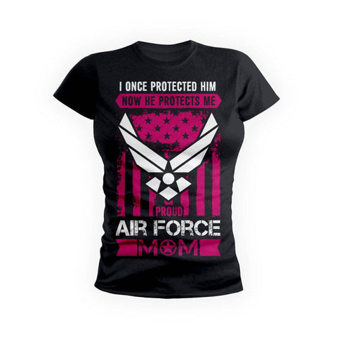 Air Force Protects Mom