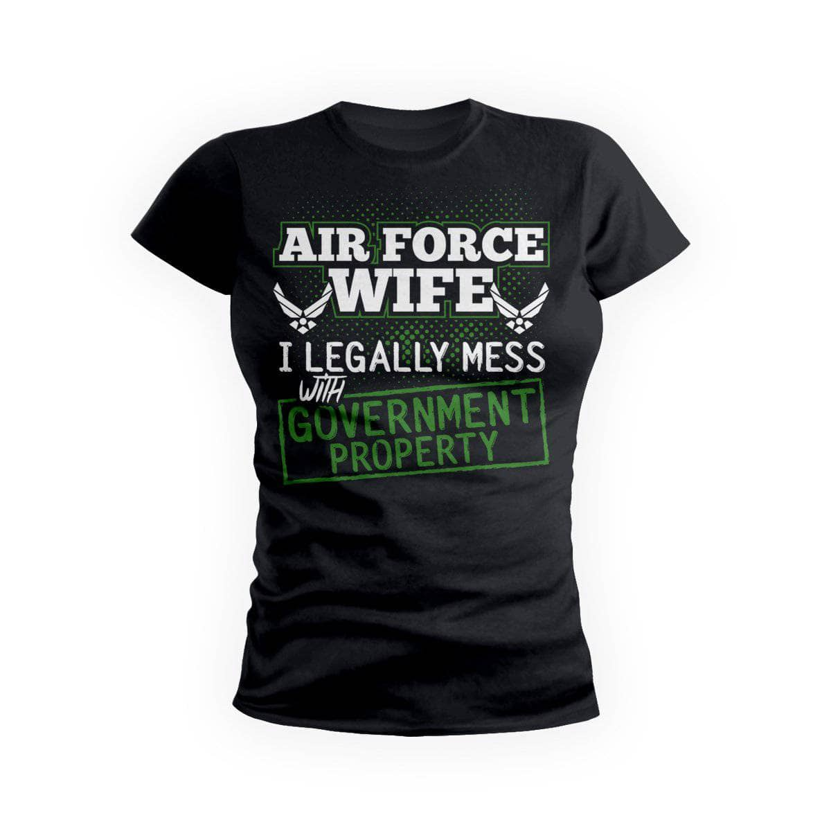 Air Force Wife Government Property