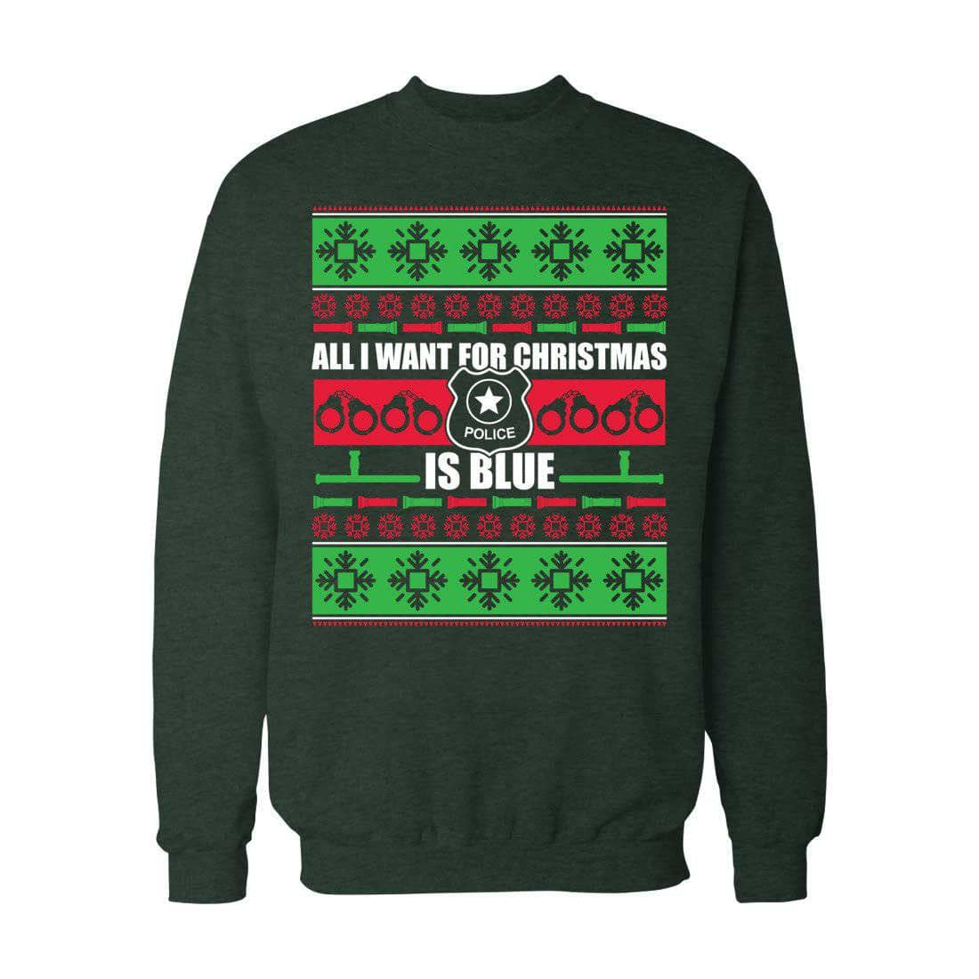 All I Want For Christmas Is Blue