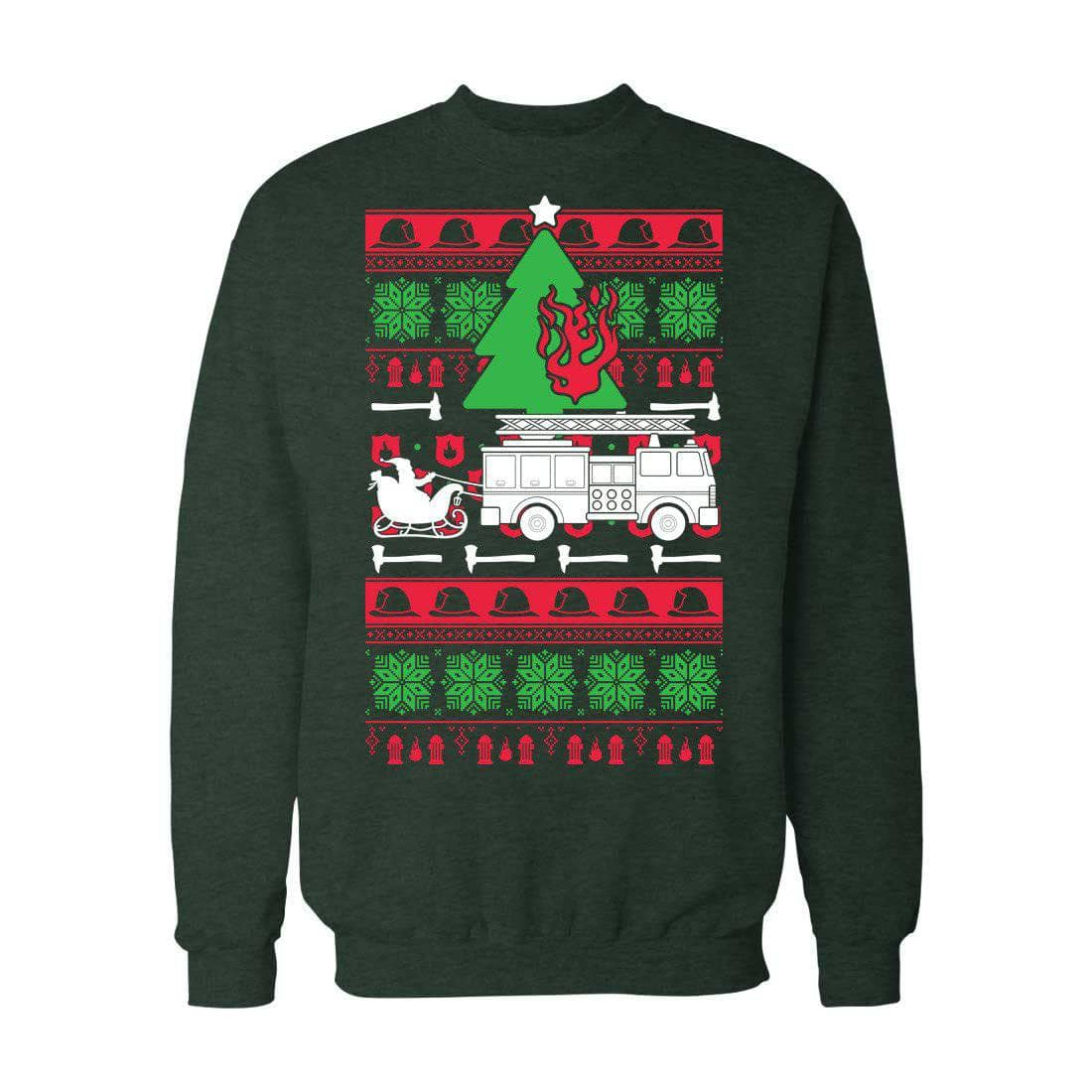Firefighter Christmas Shirt.Firefighter Christmas Firefighters L E O And Emergency T