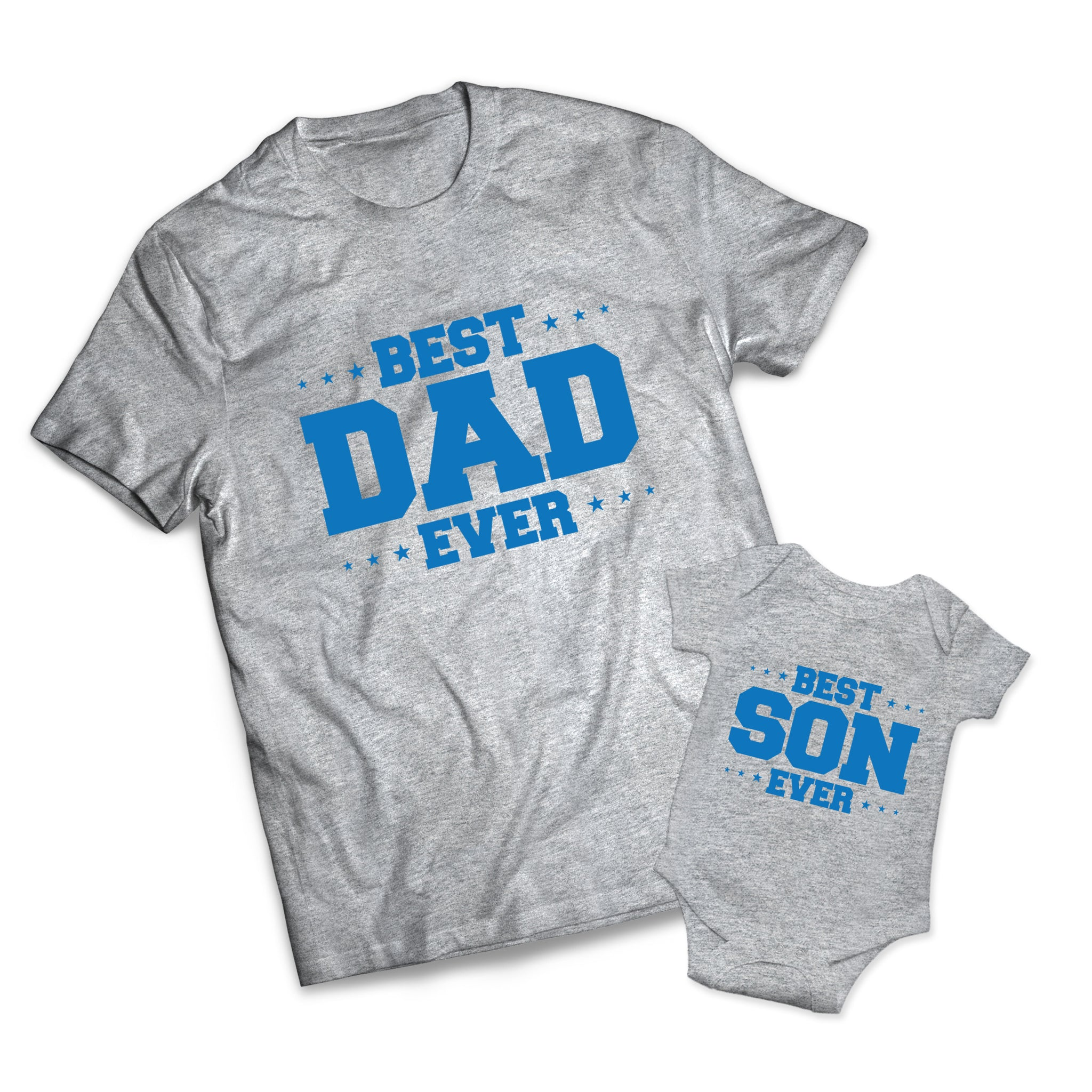 Best Dad Son Set - Dads -  Matching Shirts