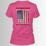 Patriotism, Don't Tread