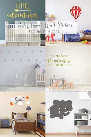 20 Elegant Wall Stickers For Your Nursery