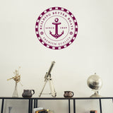 Building better boats | Wall Decal | Wall Art | Adnil Creations