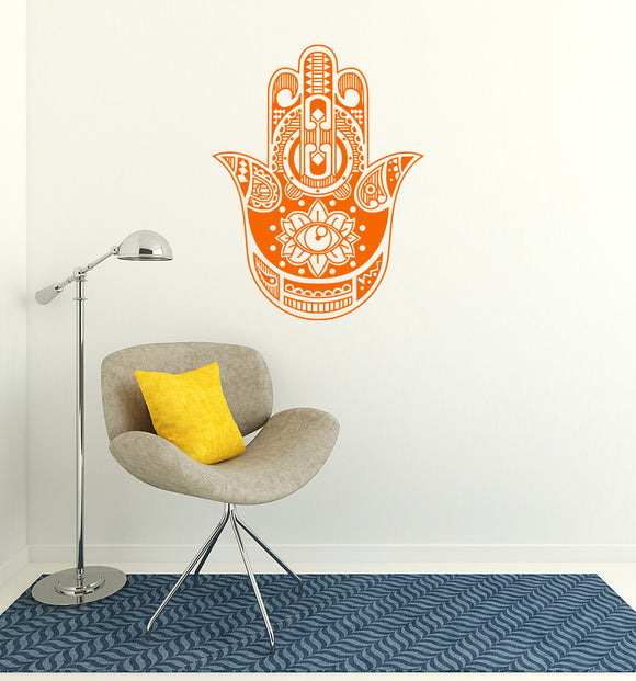 Hamsa Hand | Wall Decal | Wall Art | Adnil Creations