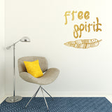 Free Spirit | Wall Quote | Wall Quote | Adnil Creations