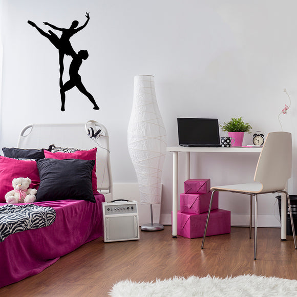 Ballet Dancers | Wall Decal | Wall Art | Adnil Creations