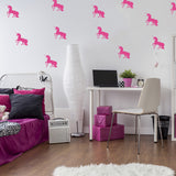 Set of 50 Unicorn Wall Stickers | 3 sizes available to choose from