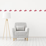 Set of 50 Cherries Wall Stickers | 3 sizes available to choose from