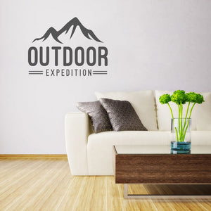 Outdoor Expedition | Wall Decal | Wall Art | Adnil Creations
