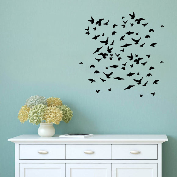 Flock of birds | Wall Decal | Wall Art | Adnil Creations