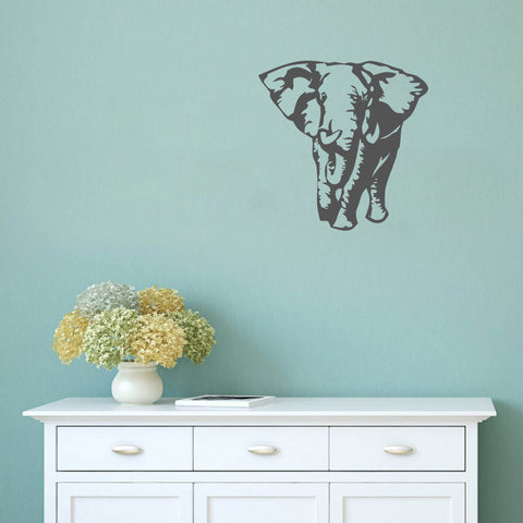 African Elephant - Wall Decal