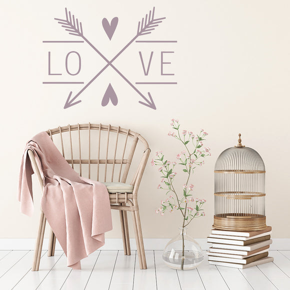 Love Arrows | Wall Decal | Wall Art | Adnil Creations