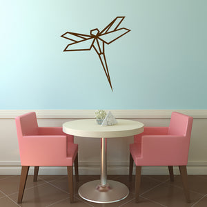 Geometric dragonfly | Wall Decal | Wall Art | Adnil Creations