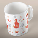 Cute Fox Pattern | Mug | Mug | Adnil Creations
