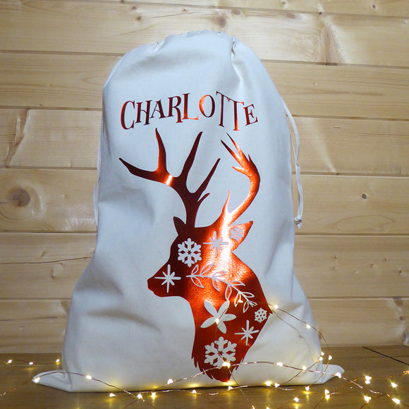 Personalised Christmas Santa Sack | Toy Sacks | Adnil Creations