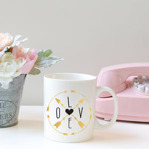 Love Compass | Mug | Mug | Adnil Creations