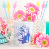 Alice and the door | Mug | Mug | Adnil Creations