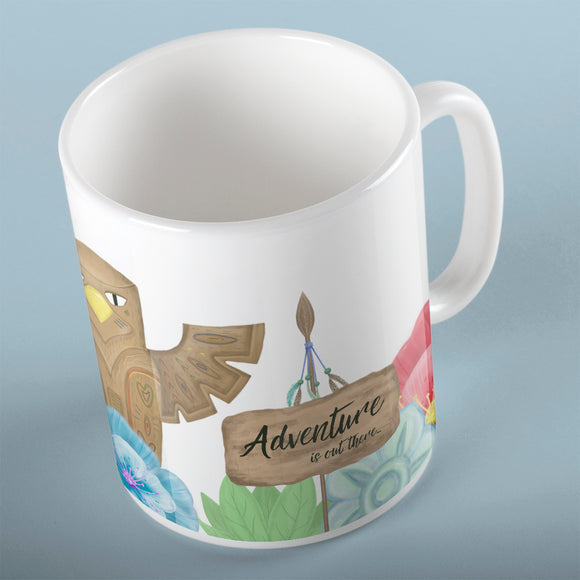 Adventure is out there | Mug | Mug | Adnil Creations