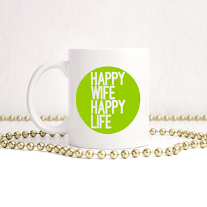 Happy wife | Mug | Mug | Adnil Creations
