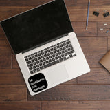 Be awesome not average | Trackpad decal | Macbook Decal | Adnil Creations