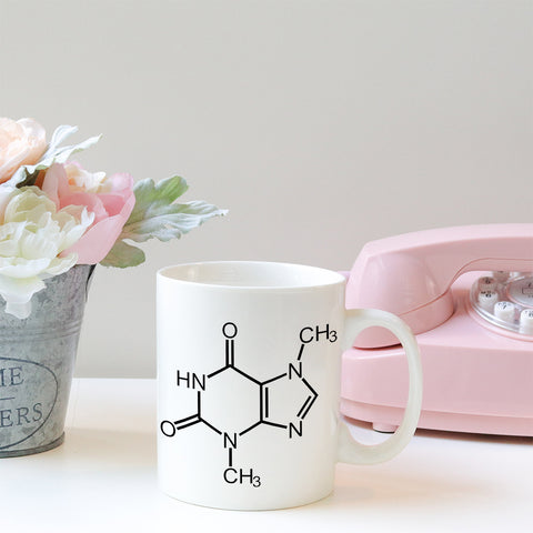 Chocolate Molecule Mug