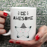 Be awesome | Mug | Mug | Adnil Creations