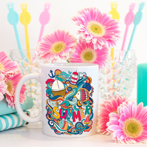 Nautical Summer | Mug | Mug | Adnil Creations