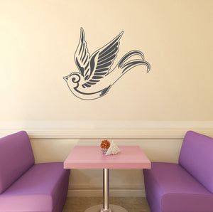 Tattoo style swallow | Wall Decal | Wall Art | Adnil Creations