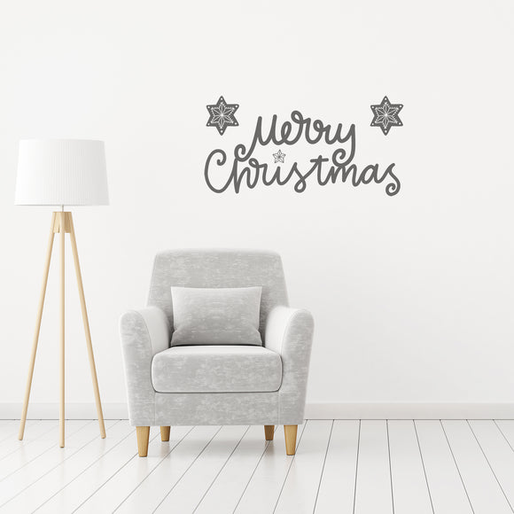 Merry Christmas | Wall Quote