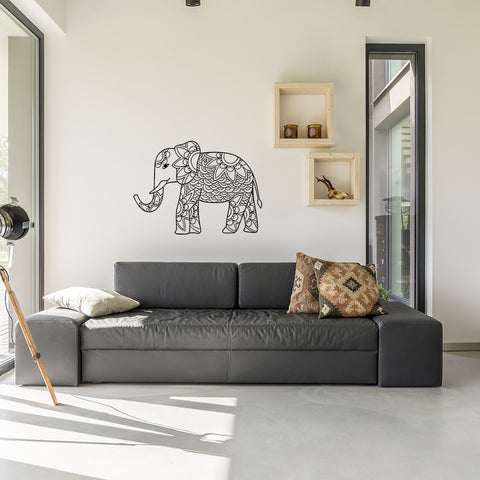 Mandala Elephant | Wall Decal
