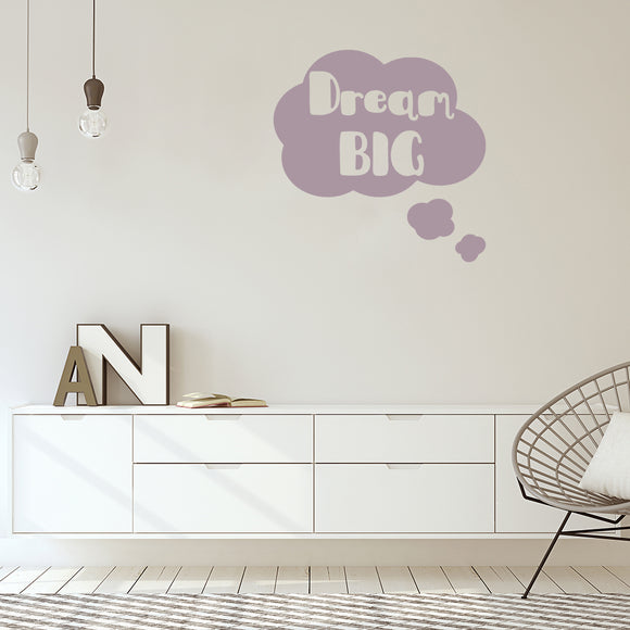 Dream big | Wall Quote | Wall Quote | Adnil Creations