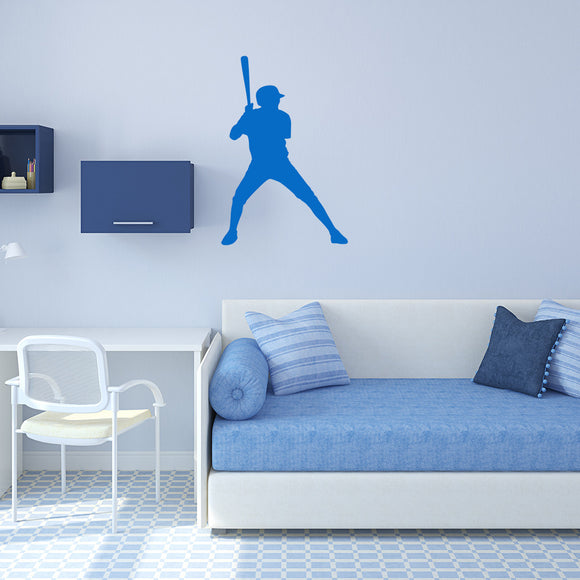 Baseball Player | Wall Decal