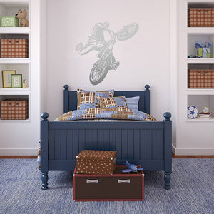 BMX Rider | Wall Decal | Wall Art | Adnil Creations