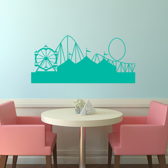 Fairground | Wall Decal | Wall Art | Adnil Creations