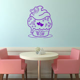 Sugar skull cupcake | Wall Decal | Wall Art | Adnil Creations