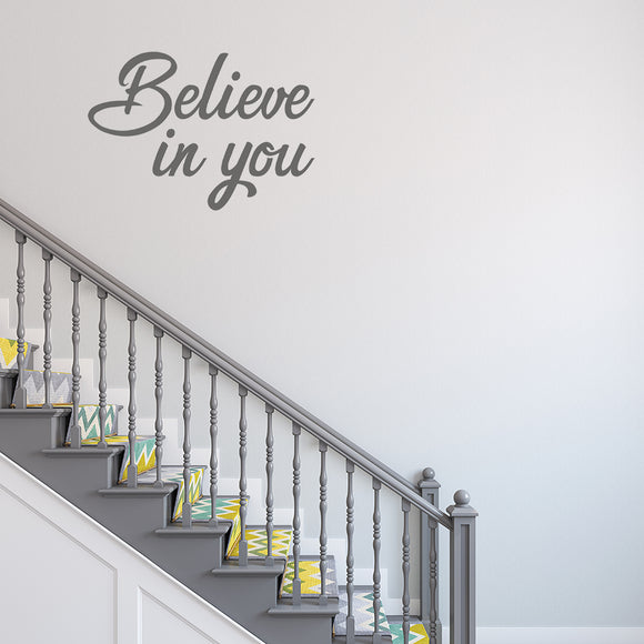 Believe in you | Wall Quote | Wall Quote | Adnil Creations