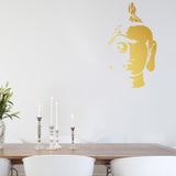 Face of Buddha | Wall Decal | Wall Art | Adnil Creations