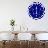 Liberty and amity to life on the seas | Wall Decal | Wall Art | Adnil Creations