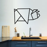 Geometric pig | Wall Decal | Wall Art | Adnil Creations